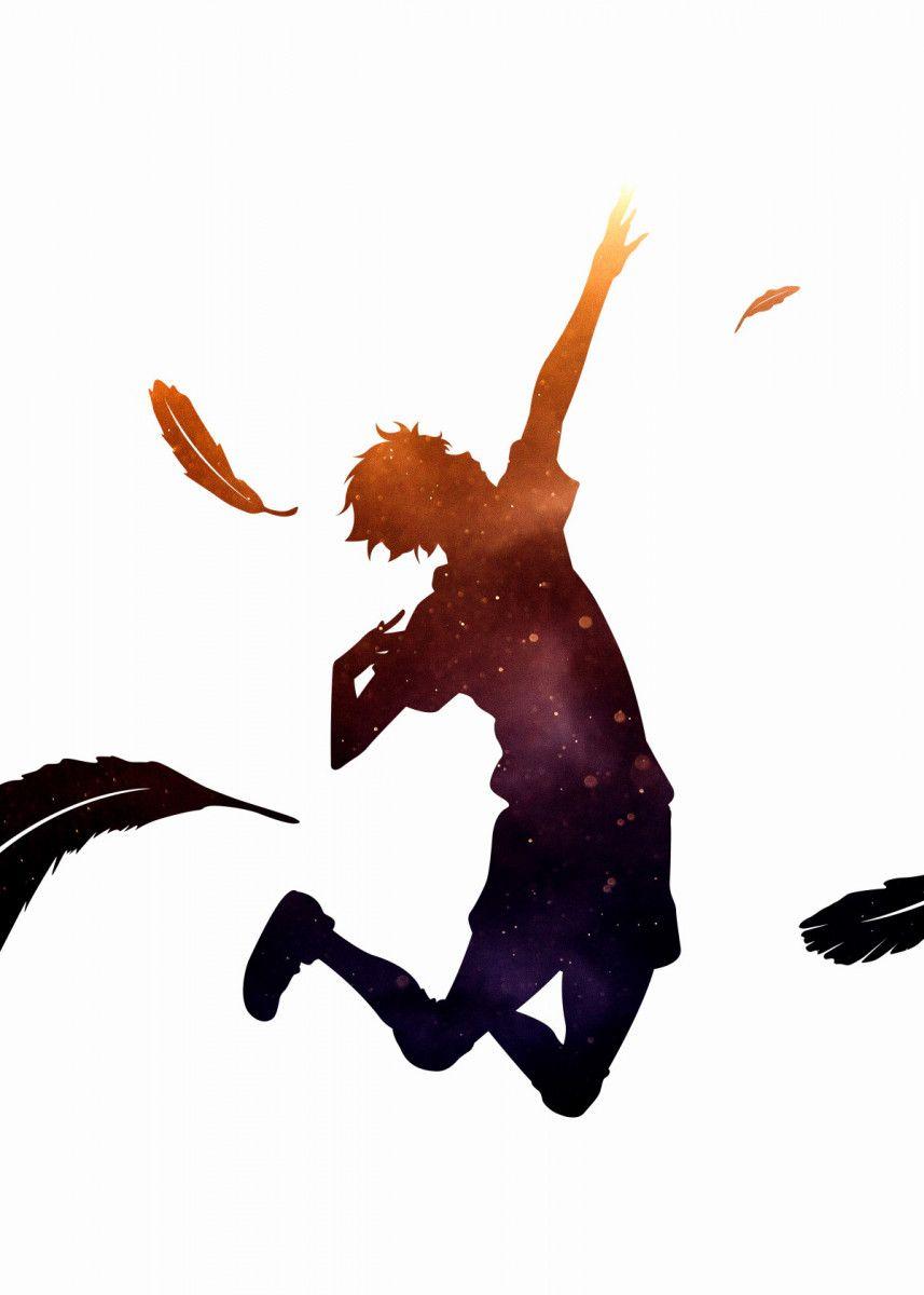 'Anime Haikyuu Hinata Shoyo' Metal Poster - Team A