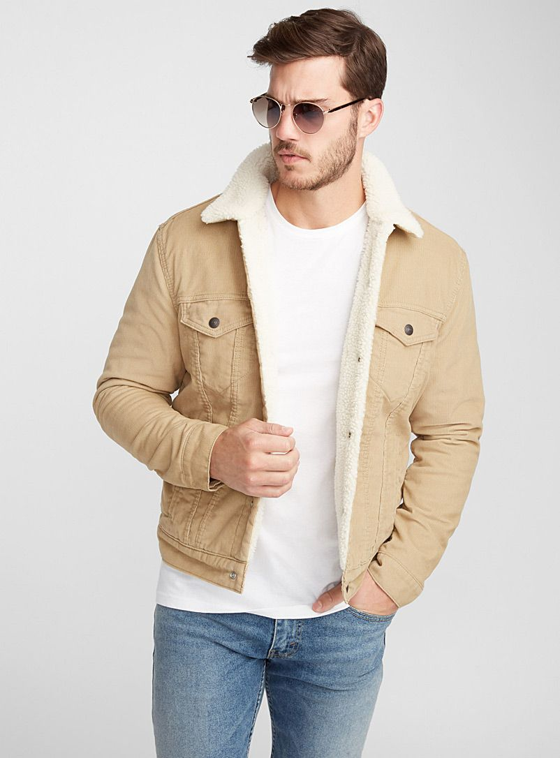 Corduroy Trucker jacket in 2019 | Jackets, Corduroy sherpa