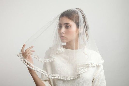 pom pom veil! <3 To Veil Or To Feather That is the Question.