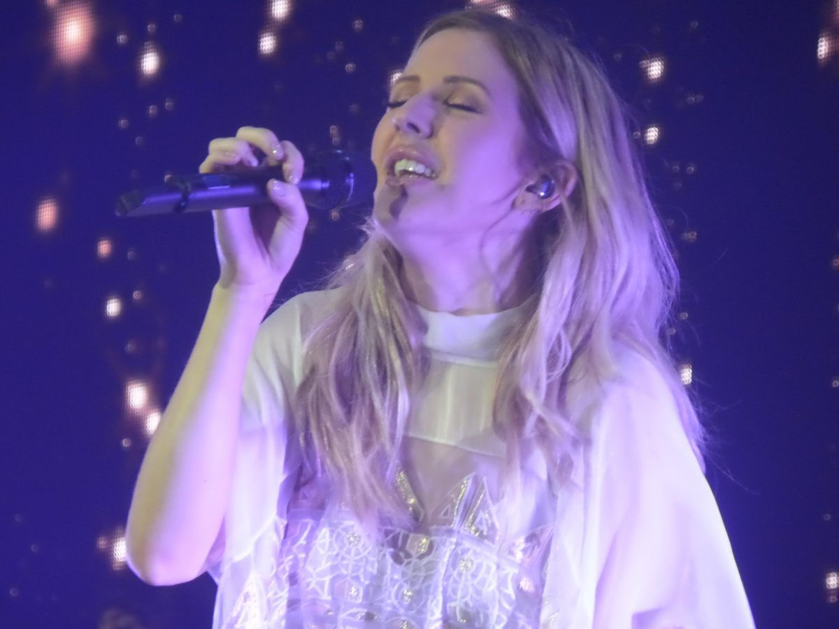 Steve Holley caught Ellie Goulding's performance at London's O2 on Friday night.