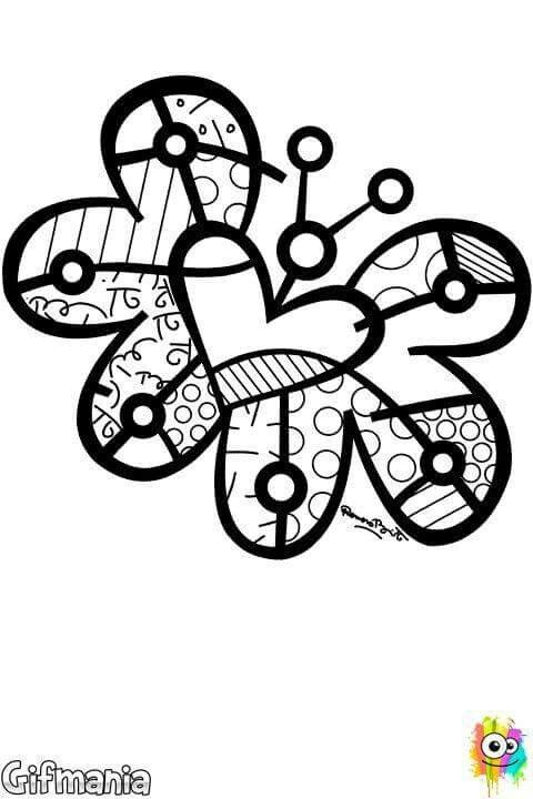 Pin De Fadzillah Hanom Em Doodle Desenhos Para Colorir Romero