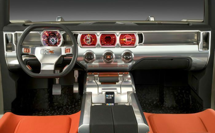 Hummer H4 Inside >> 2017 Hummer Hx Interior Car Pictures And Cars