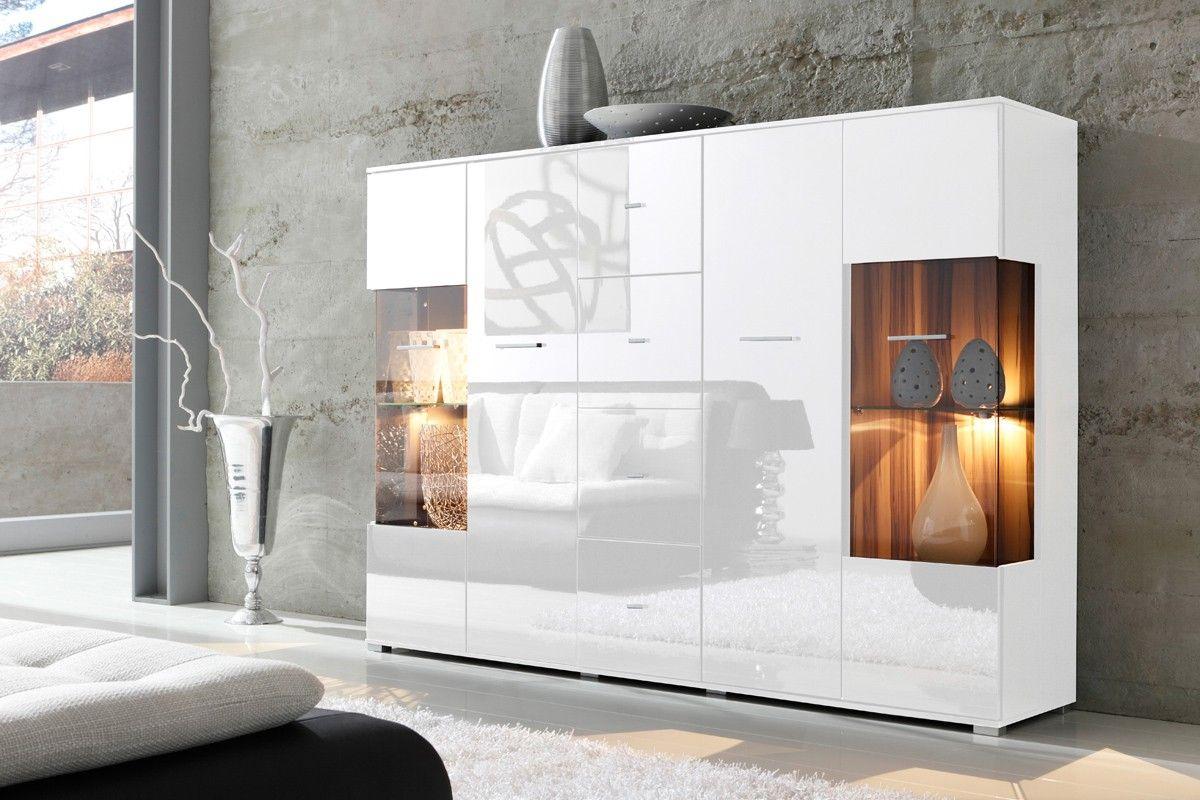 Schickes Und Modernes Design Mit Leuchtenden Akzenten In