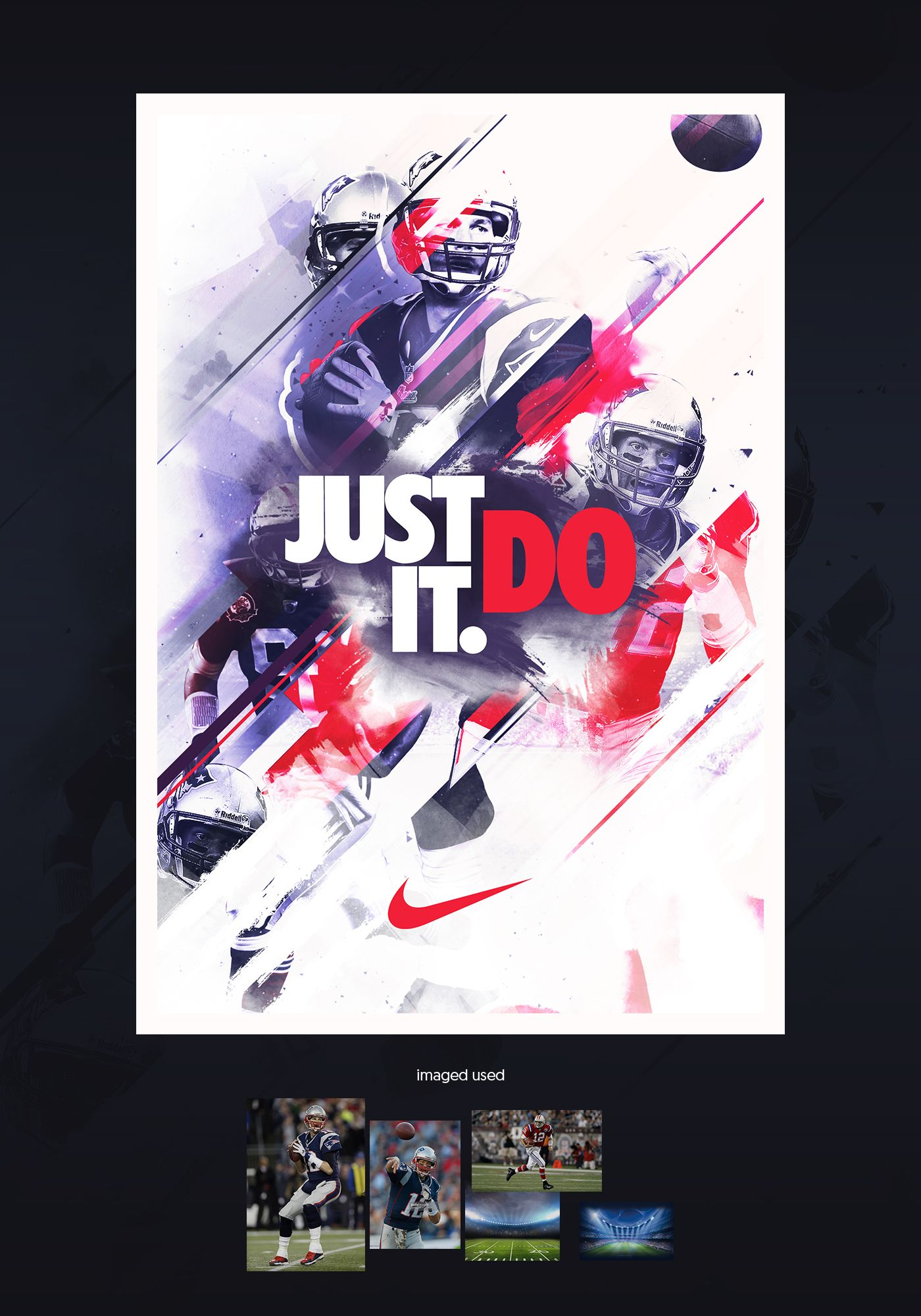 Nike - Just Do It on Behance | sports graphic | Pinterest ...