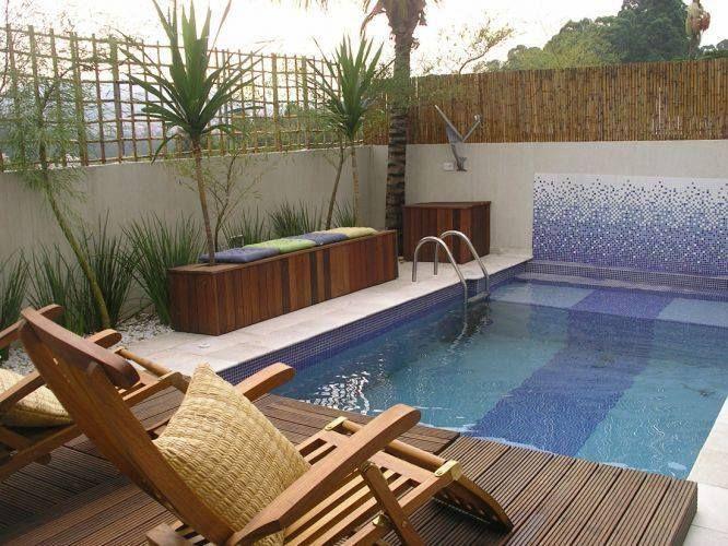 Ideas para piscinas peque as en tu patio 1 pinterest for Ideas piscinas pequenas
