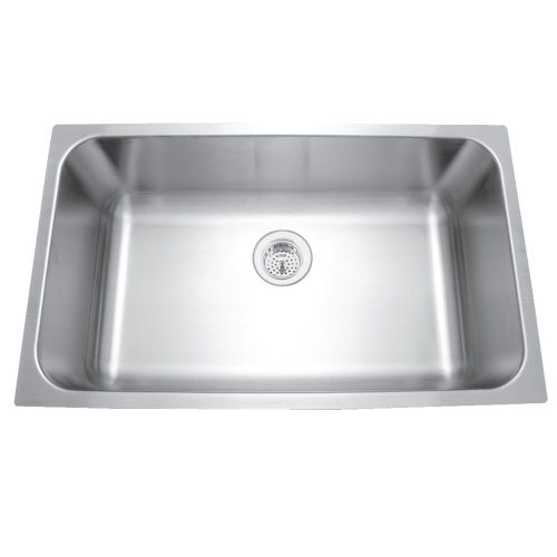 Mirabelle Miruc309 Stainless Steel Undermount Single Bowl Kitch