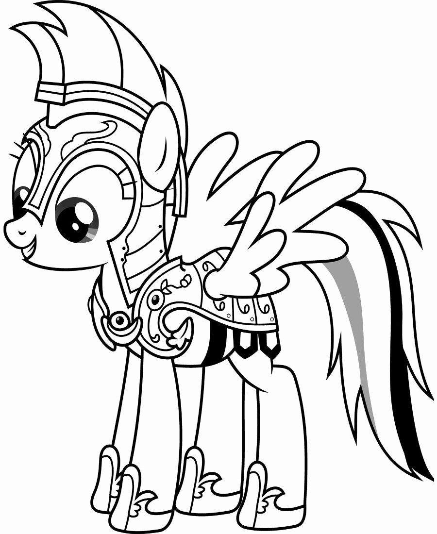 32 Rainbow Dash Coloring Page in 2020 My little pony