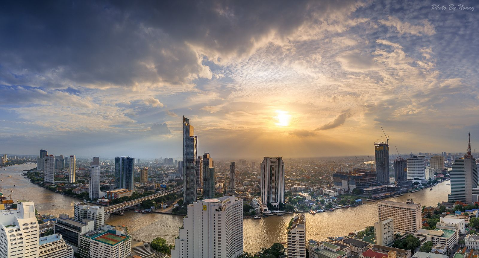 BANGKOK Icon Siam and Mandarin Oriental 315m 1033ft