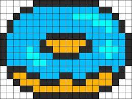 Minecraft Pixel Art Donut