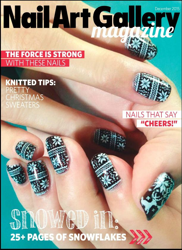 Get inspired from @nailsmagazine with the December online Nail Art ...