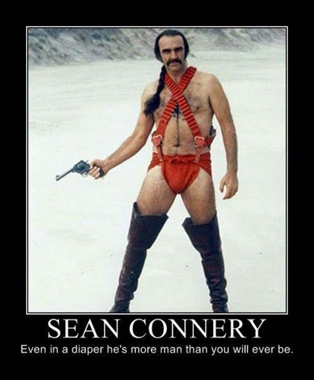 Demotivational Posters (17 Pics) Sean Connery | Demotivational ...