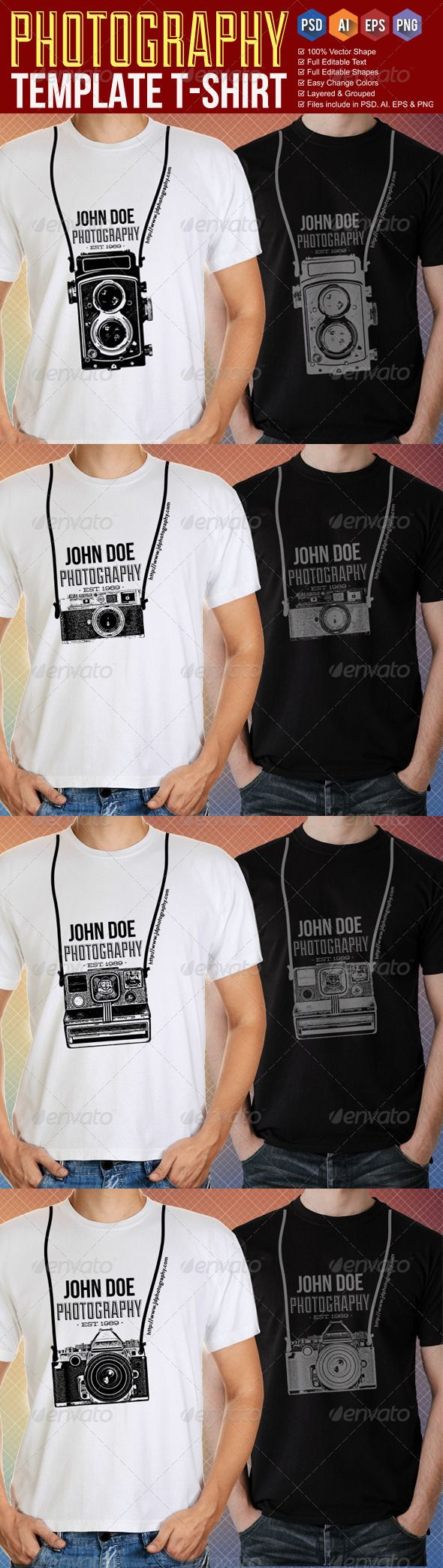 Download Graphic Logo Templates Epublishing Web Elements Vectors Photography T Shirt Templates Shirt Template Shirt Print Design Tshirt Photography