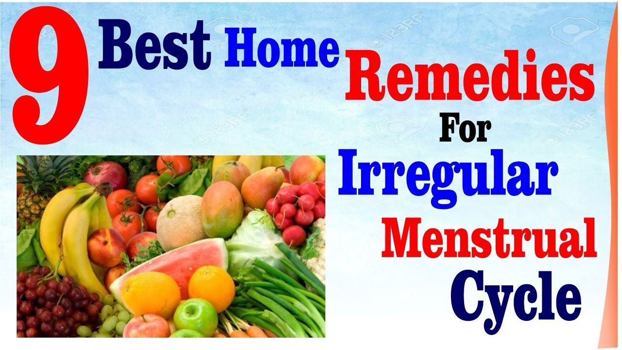 Best Home Remedies For Irregular Menstrual Cycle | Amazing