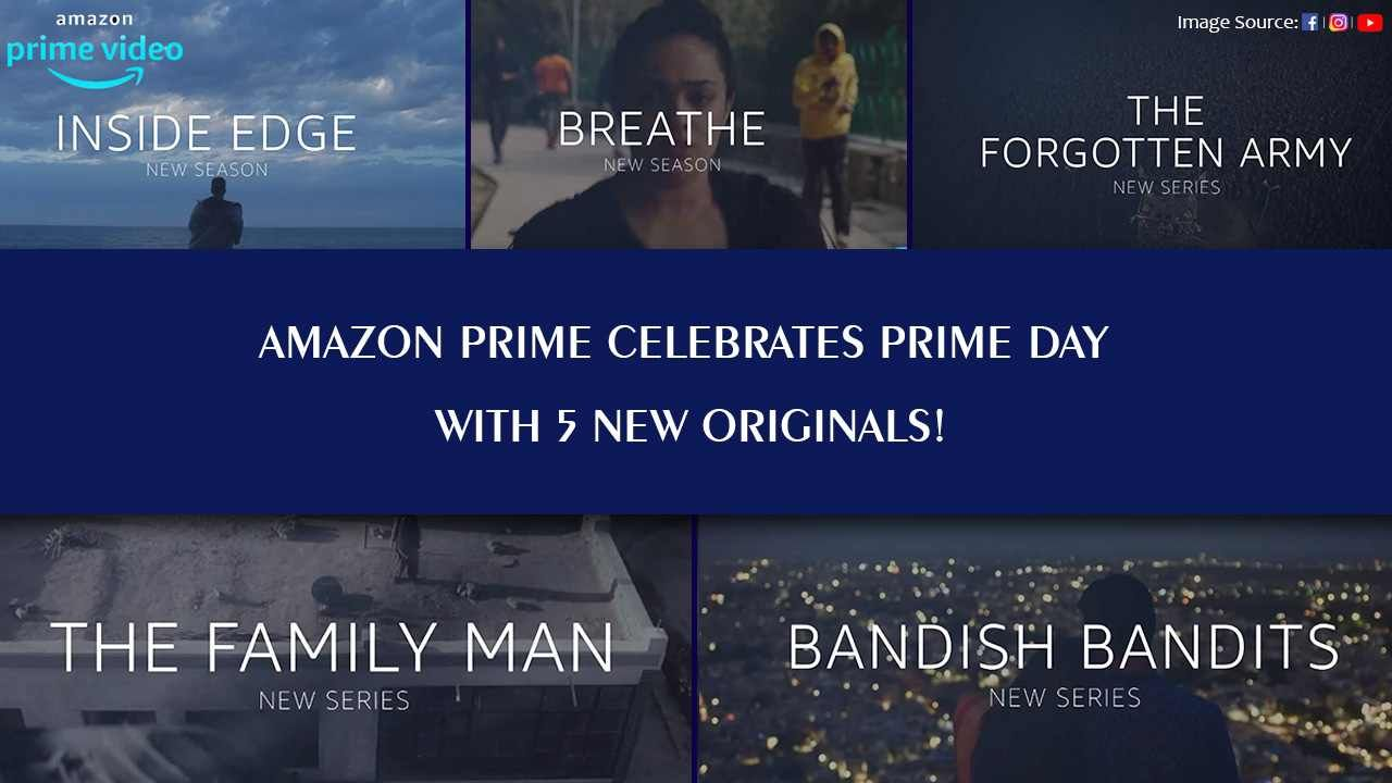 Prime Day Celebration Brings 5 Much Awaited Indian Series To The