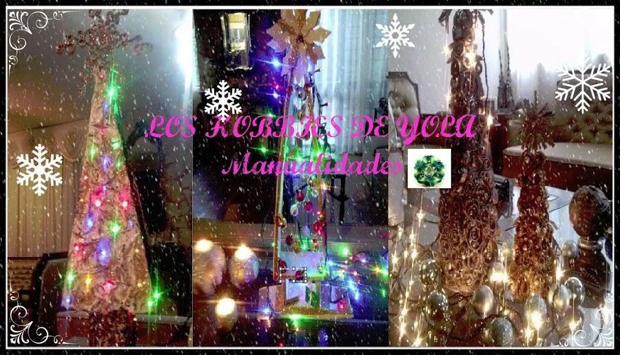 Recicla en Navidad y crea tu árbol navideño más especial