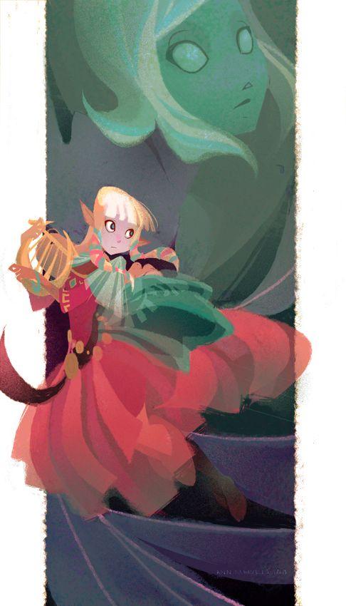 Zelda   Spirit of the Goddess by Ann Marcellino   the legend of ...