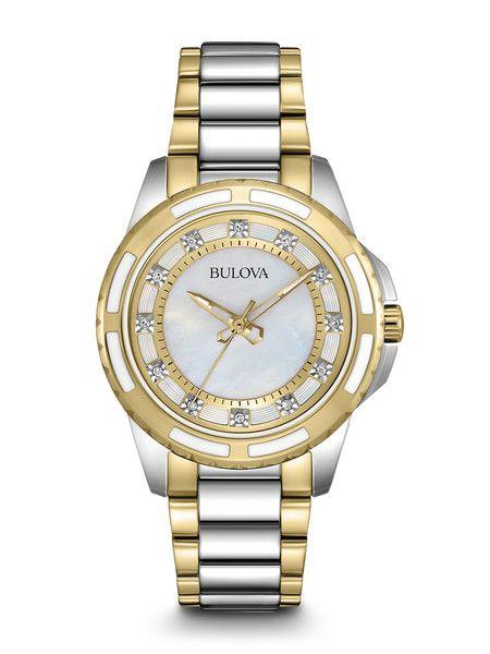 ad3838c3ff2 Bulova 98P140 Women s Diamond Watch