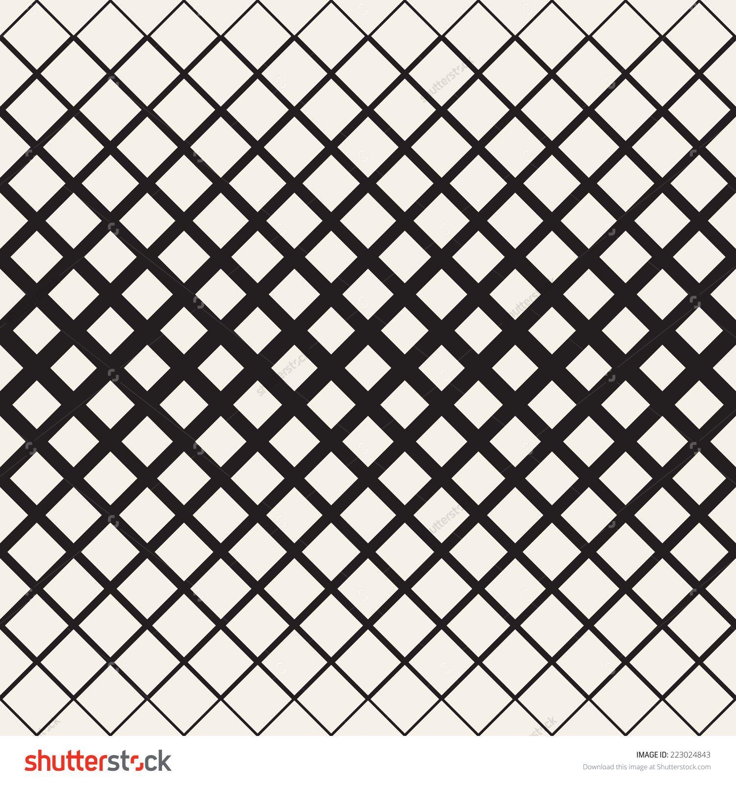 Vector Seamless Pattern Modern Stylish Texture Geometric