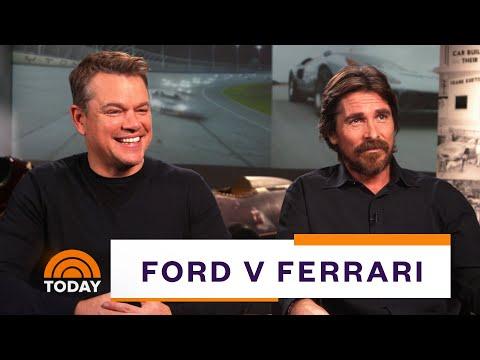 Matt Damon Christian Bale On Ford V Ferrari Full Interview