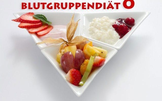 Blutgruppendiät 0 Ernährungsplan