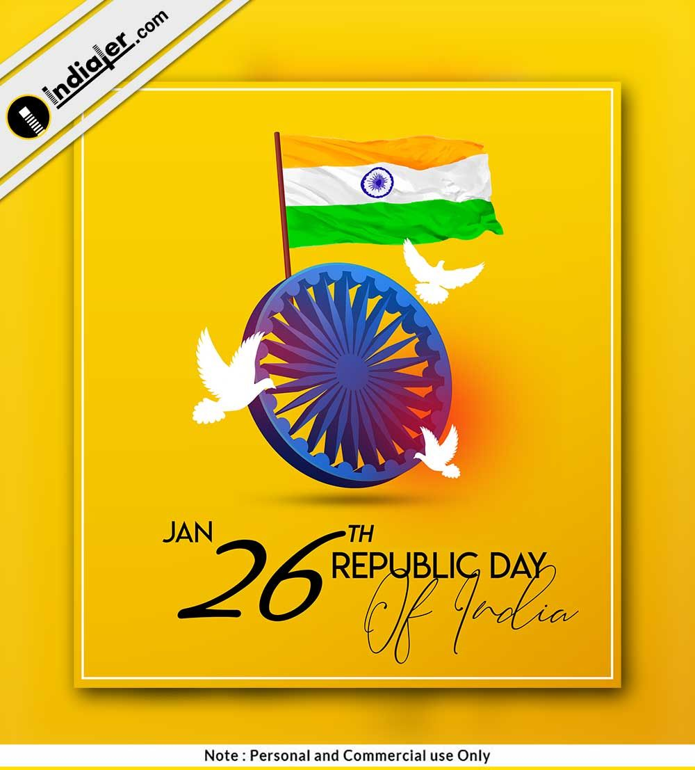 26 January Republic Day Modern Social Media Post 26 January Republic Day Republic Day Happy Republic Day Wallpaper