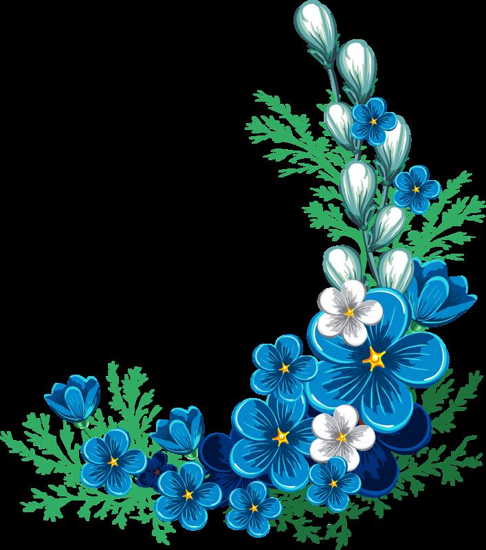 Уголок открытки с цветами, нитками доброе утро