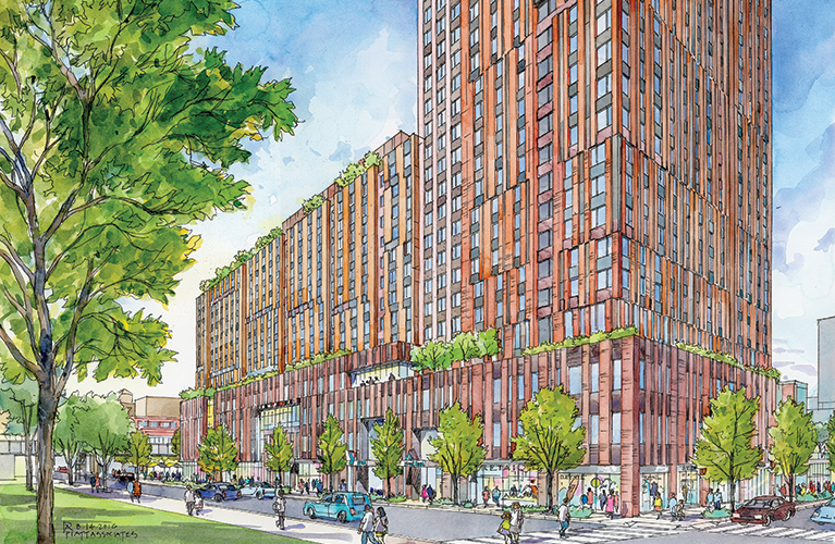 New Renderings Of East Harlem S Sendero Verde The Country S Will Be Largest Passive House Project 6sqft Passive House East Harlem Home Projects