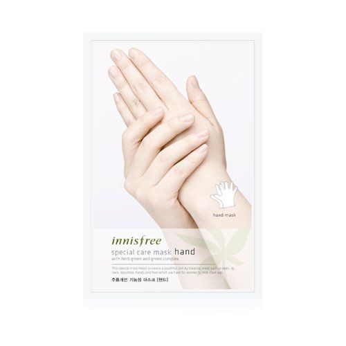 Pin for Later: 5 Online Shops to Score the Coolest Korean Beauty Products Innisfree Special Care Mask For Hands