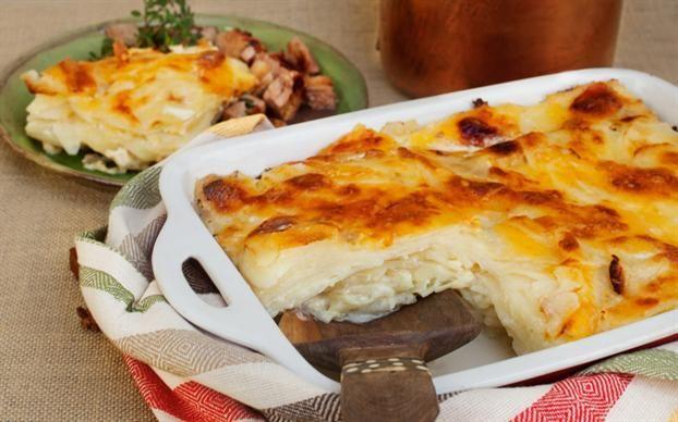 Papas con queso gruyère - revistamaru.com
