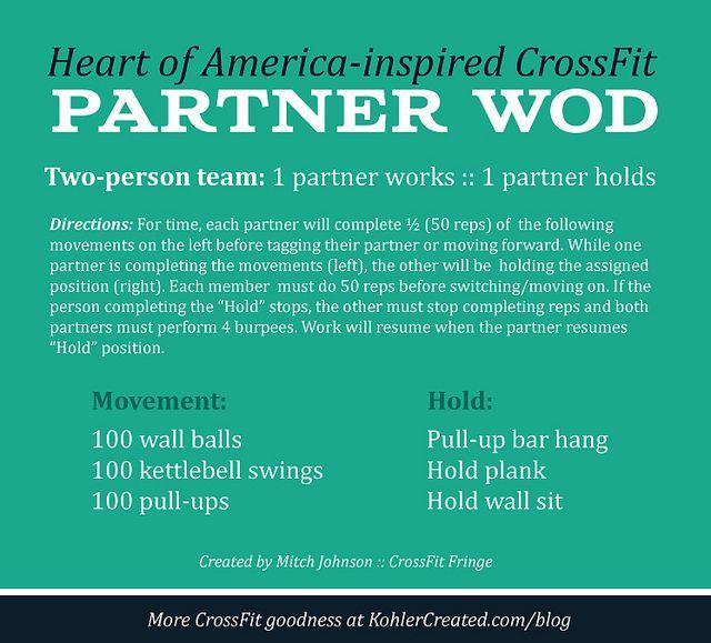 Heart of America-inspired CrossFit workout | Kohler Created http ...