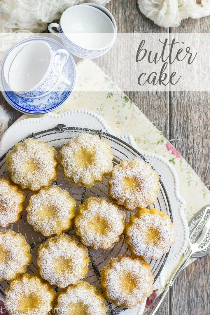 Butter cake with images mini bundt cakes recipes cake