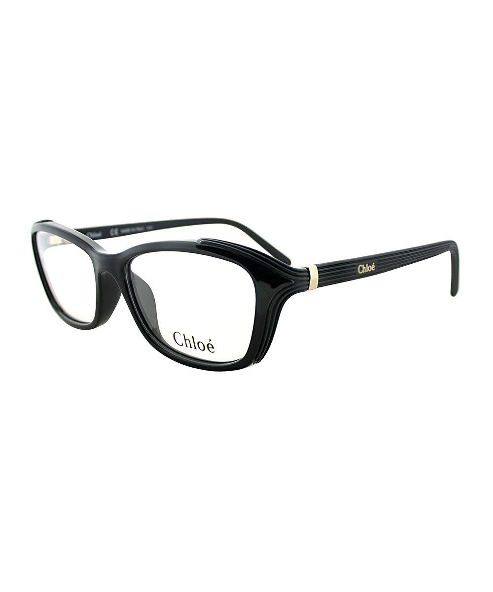 d248763703a3 Black   Silver Ribbed Eyeglasses