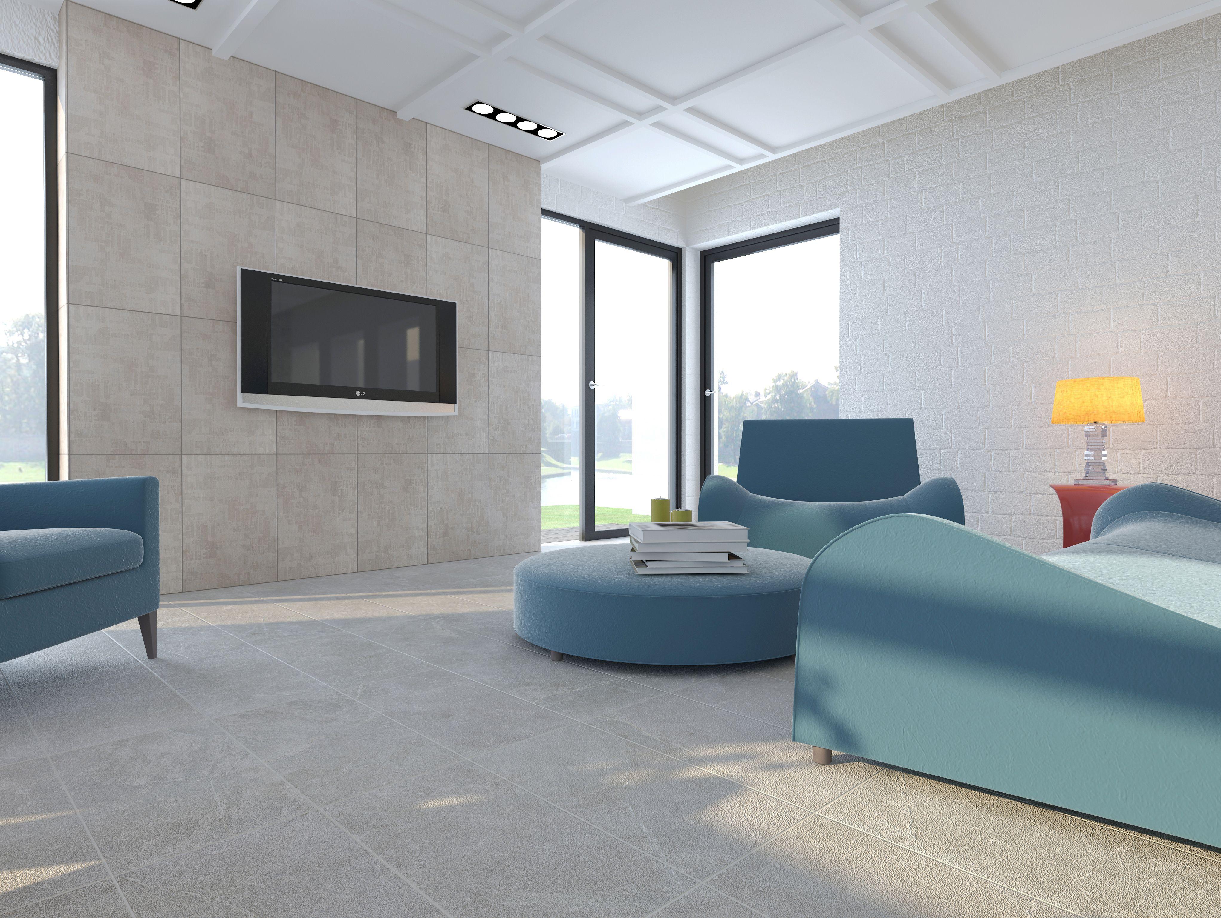 interceramic trio pietra glazed porcelain floor tile On porcelanato interceramic