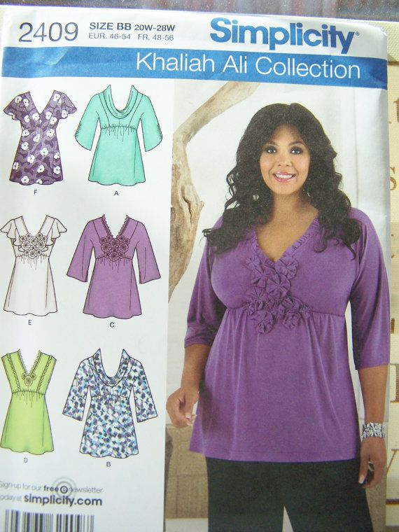 Simplicity 2409 Women\'s Sewing Pattern Misses\' by WitsEndDesign ...