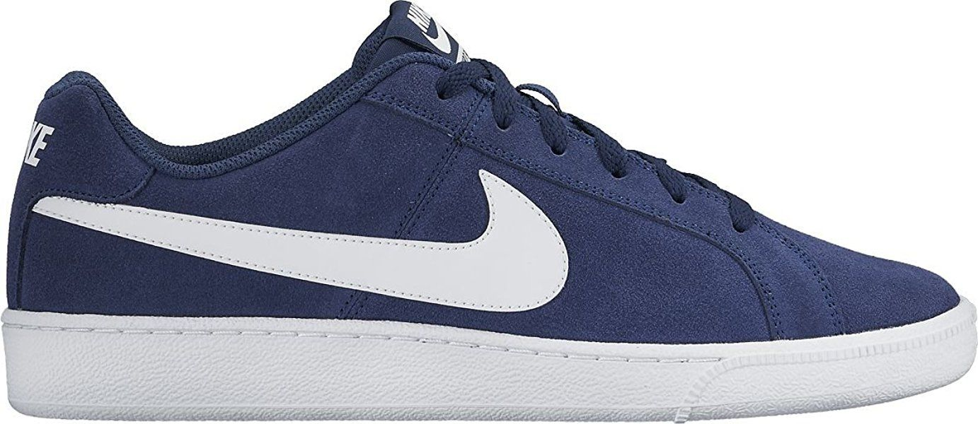 promo code 51002 b5181 Nike Court Royale Suede, Baskets Homme, Bleu (Midnight NavyWhite),