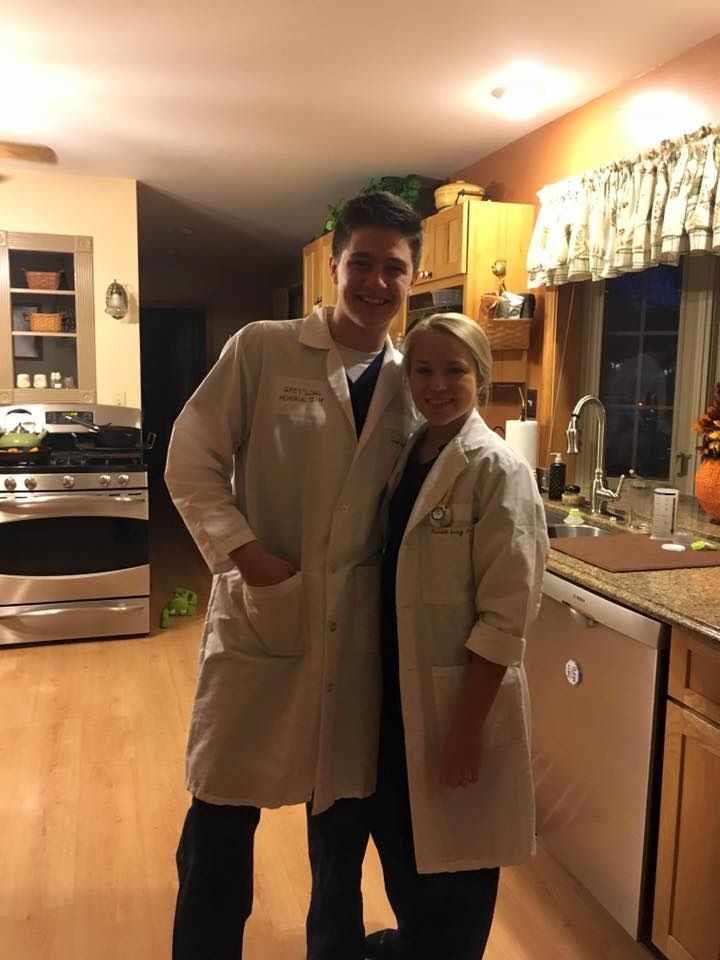 Greys Anatomy Couple Costume Derek Mcdreamy And Meredith So