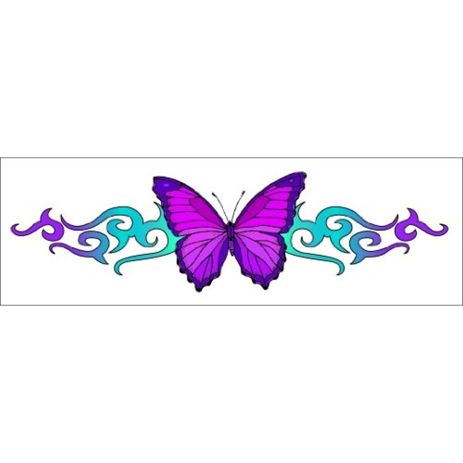 Tribal Butterfly Temporaray Tattoo * More Info Could Be