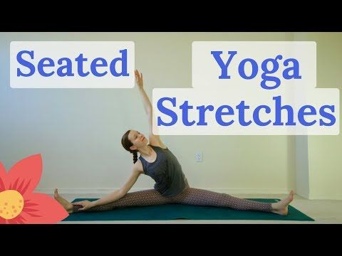 seated yoga stretches for flexibility 13 minutes  emily