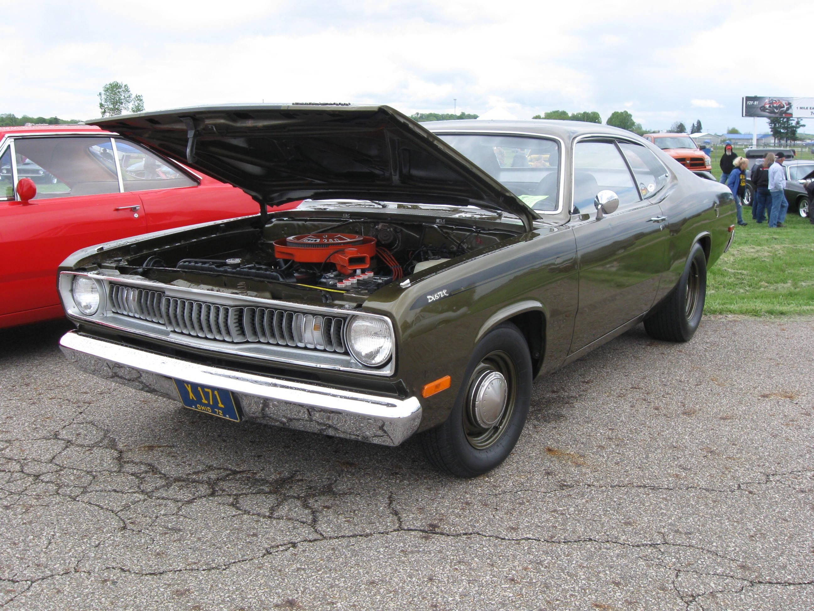 1972 plymouth duster 340 photo by mopar belle chrysler power classic rh pinterest com plymouth duster production 1975 plymouth duster super stock