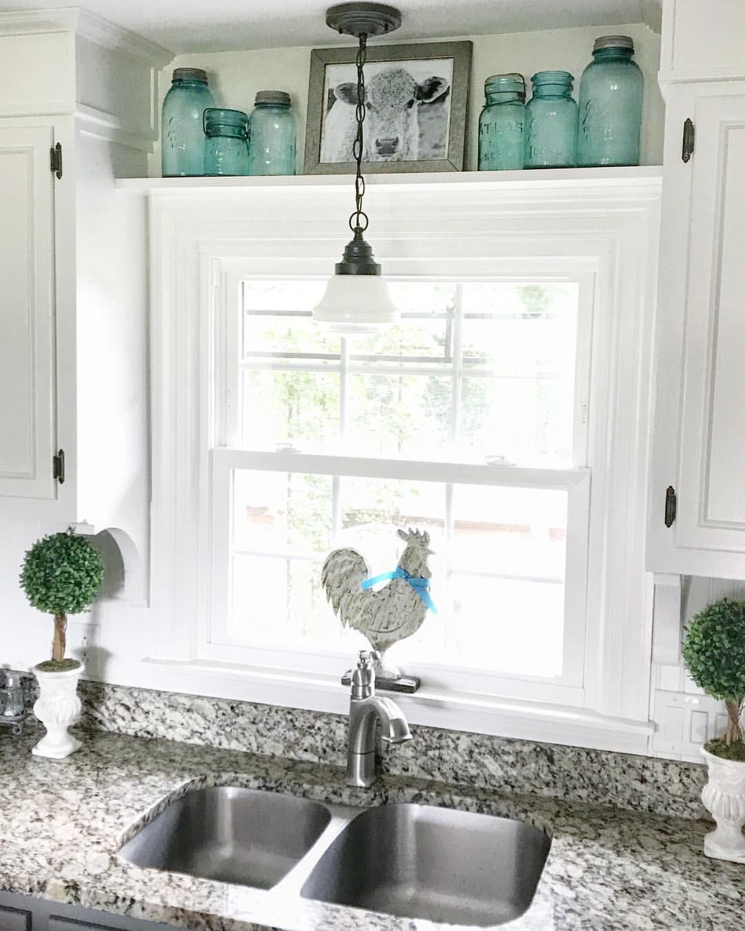 Kitchen Window Ideas Farmhouse Kitchen Decor Kitchen Window