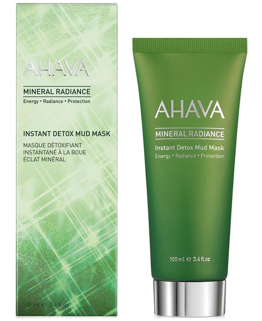 Ahava Mineral Radiance Instant Detox Mud Mask