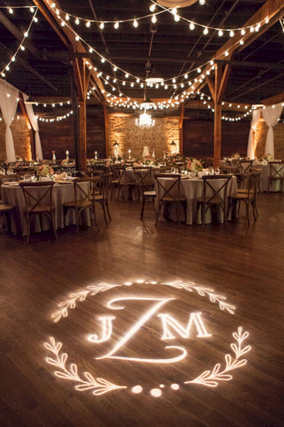 12 Incredible Wedding Lighting Ideas For Romantic Wedding Party Wedding Lights Rustic Barn Wedding Barn Wedding Reception