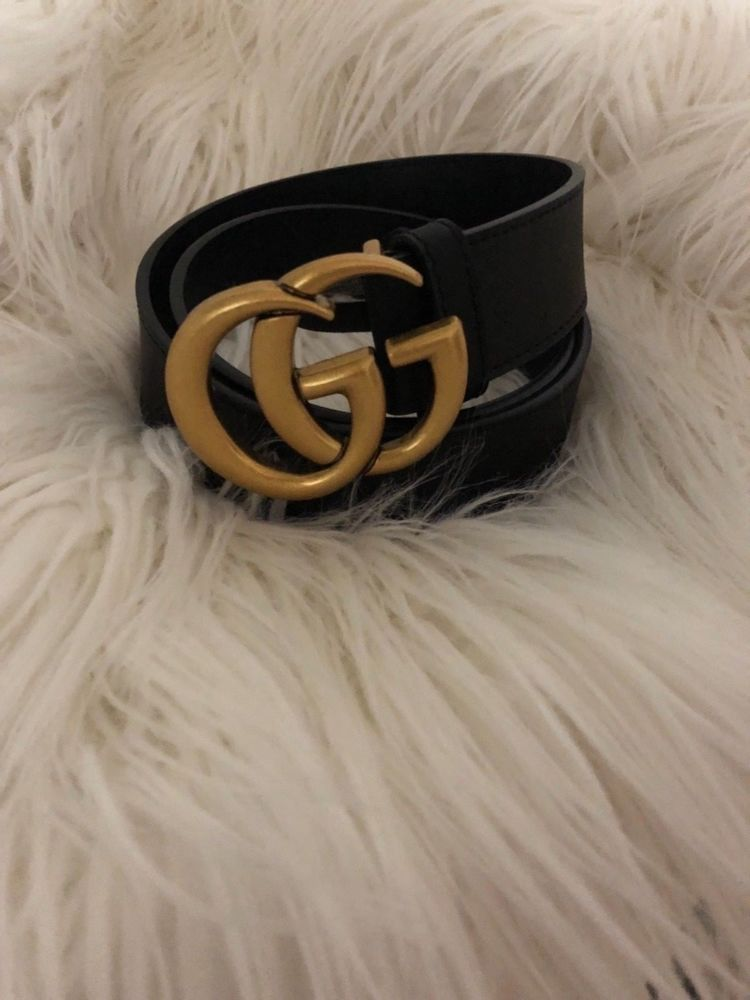 48e9d2918 Women's GG Buckle Gucci Leather Belt Size 34 / 85 cm #fashion #clothing # shoes #accessories #womensaccessories #belts (ebay link)