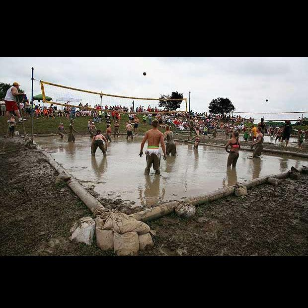 Mud Volleyball Volleyball Outdoor Fun Volleyball Tips