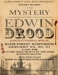 The Mystery of Edwin Drood. Klein Forest Fine Arts.