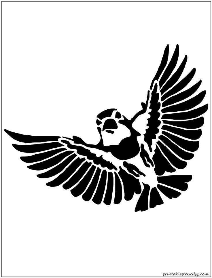 Duck Bird Flying Animal Mylar Airbrush Painting Wall Art Stencil four