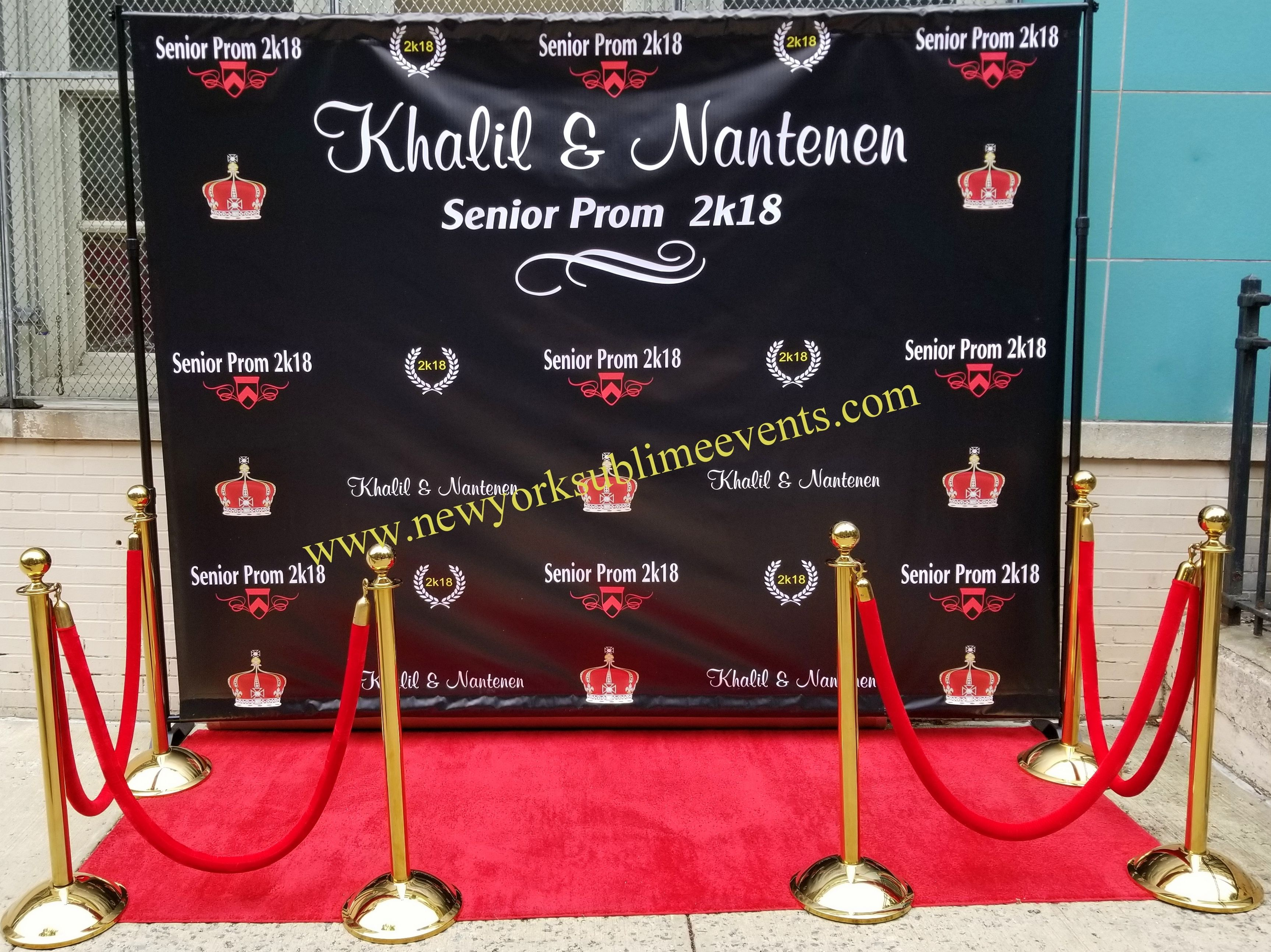 Custom Prom Step And Repeat Banner Http