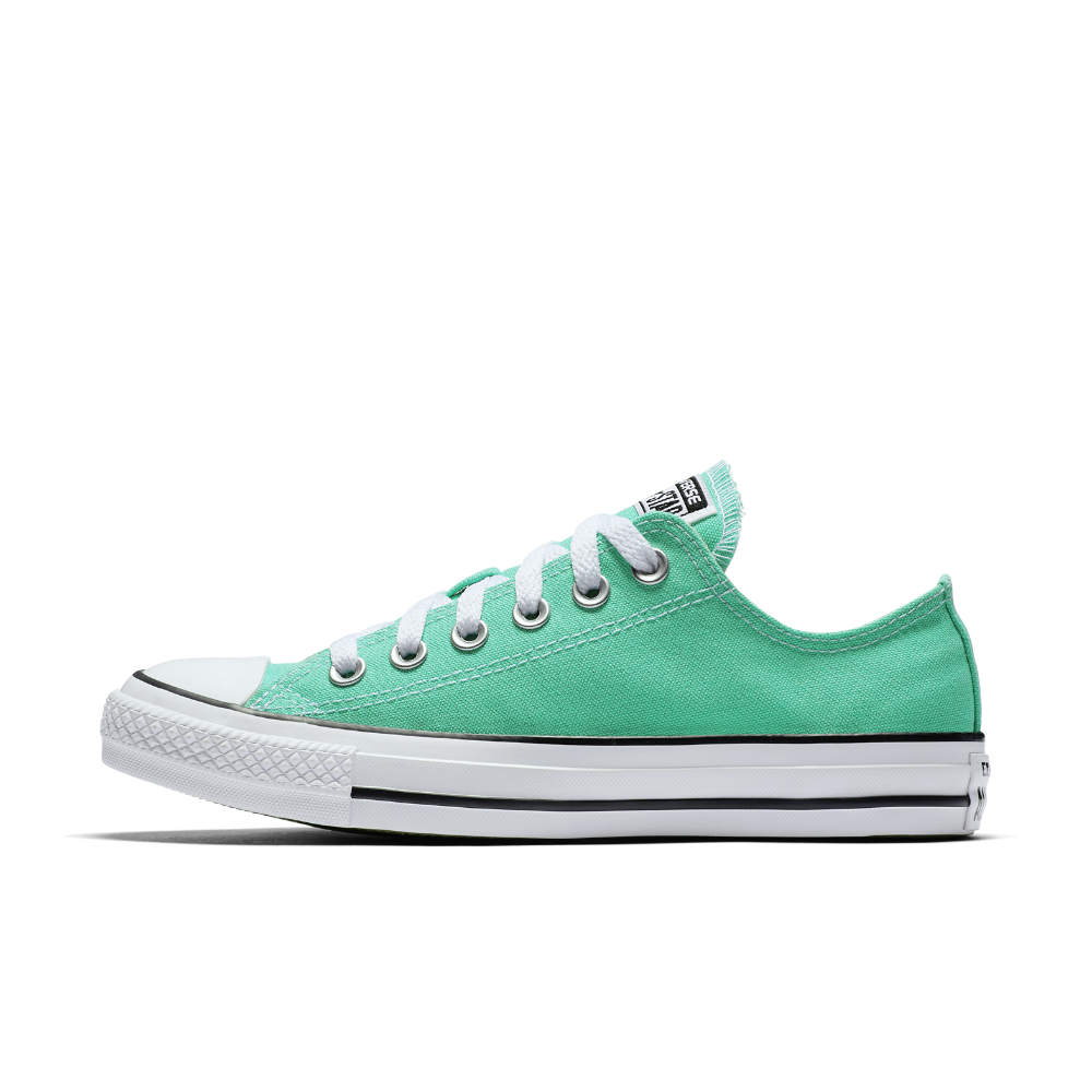 a7ce27863c63c3 Converse Chuck Taylor All Star Seasonal Colors Low Top Shoe Size 11.5  (Green) - Clearance Sale