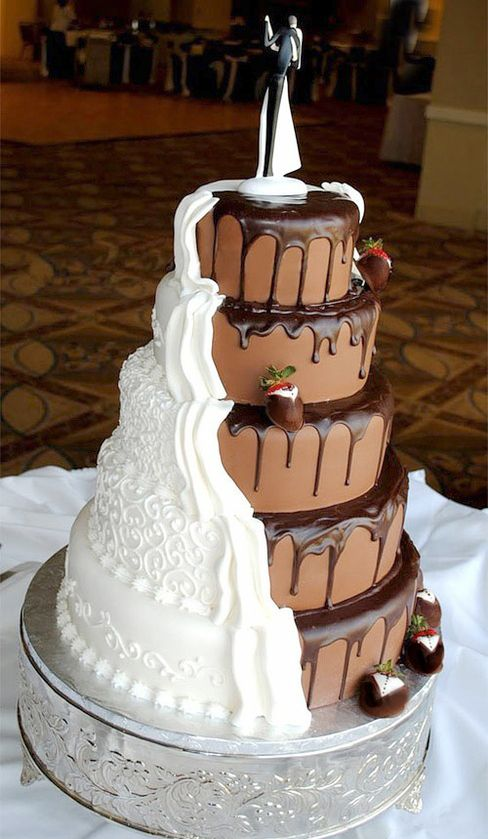 Modern Wedding Thoughts Photo Dreams Crazy Wedding Cakes