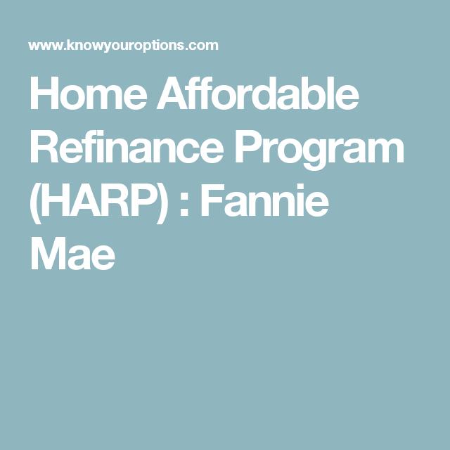 Image Result For Harp Home Affordable Refinance Program Bank America